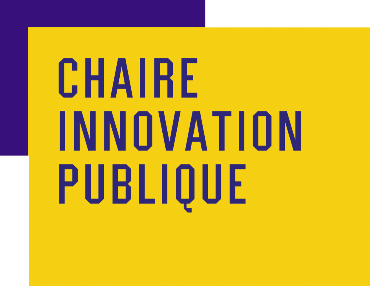 Chaire Innovation Publique